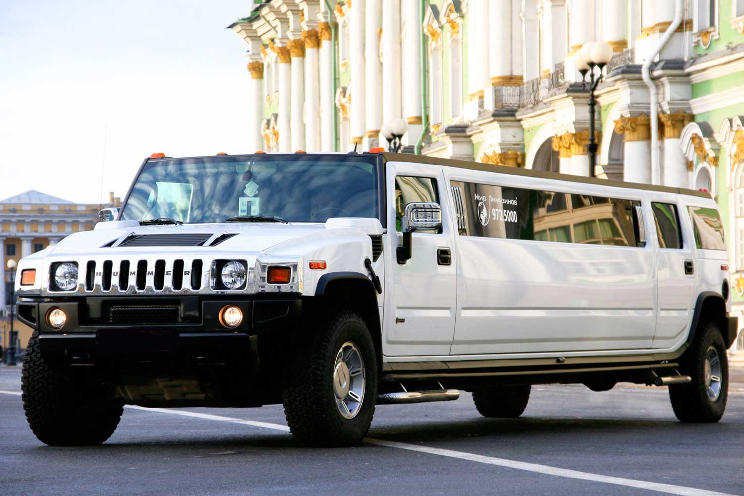 Hummer H2 Ultra Stretch Flirt