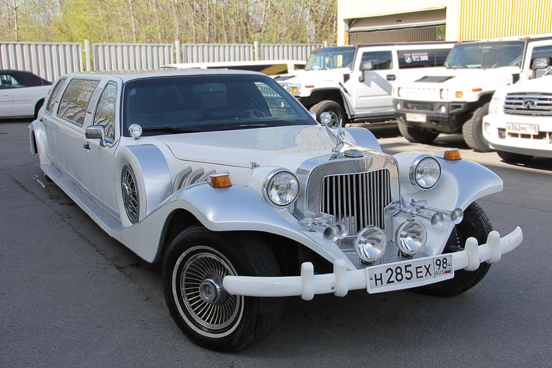 "Excalibur Phantom Stretch ""Silver Shadow"""